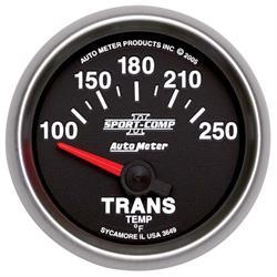 Auto Meter 3649 Sport-Comp II Air-Core Transmission Temperature Gauge