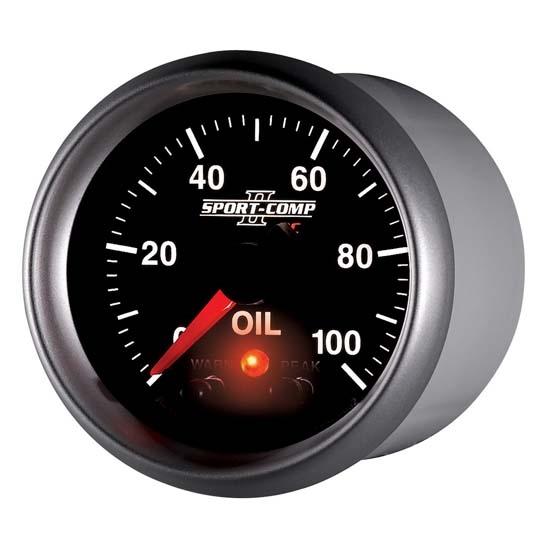 autometer 3652 sportcomp ii digital stepper motor oil pres. Black Bedroom Furniture Sets. Home Design Ideas
