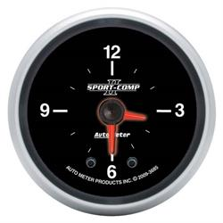 Auto Meter 3685 Sport-Comp II Digital Stepper Motor Clock Gauge