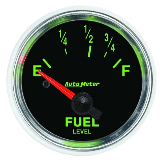 Auto Meter 3815 GS Air-Core Fuel Level Gauge, 2-1/16 Inch
