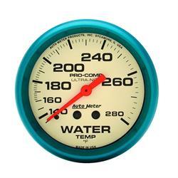 Auto Meter 4231 Ultra-Nite Mechanical Water Temperature Gauge
