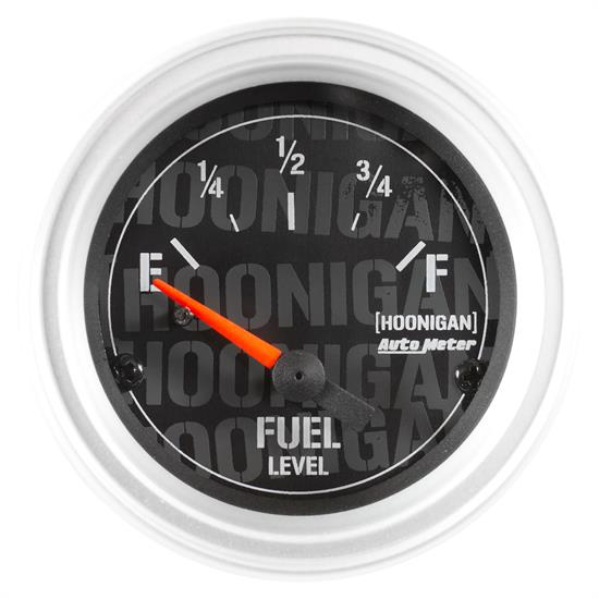Auto Meter 4316-09000 Hoonigan Fuel Level Gauge, 2-1/16, 240/33 Ohm,
