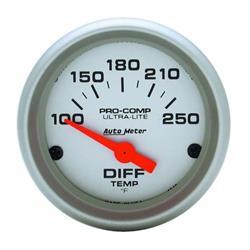 Auto Meter 4349 Ultra-Lite Air-Core Differential Temperature Gauge