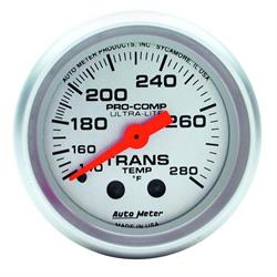Auto Meter 4351 Ultra-Lite Mechanical Transmission Temperature Gauge