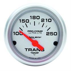 Auto Meter 4357 Ultra-Lite Air-Core Transmission Temperature Gauge