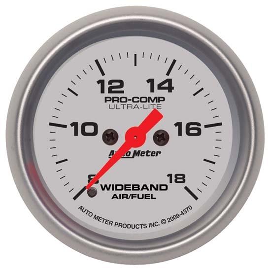 Auto Meter 5978 ES 2-1//16 Digital Wideband Air//Fuel Ratio PRO Gauge