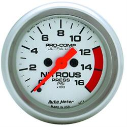 Auto Meter 4374 Ultra-Lite Digital Stepper Motor Nitrous Press Gauge