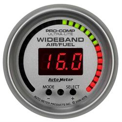 Auto Meter 4378 Ultra-Lite Digital Wideband Air/Fuel Ratio (AFR) Gauge