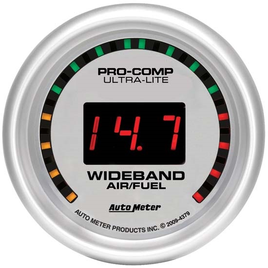 Auto Meter 4379 Ultra-Lite Digital Wideband Air/Fuel Ratio (AFR) Gauge