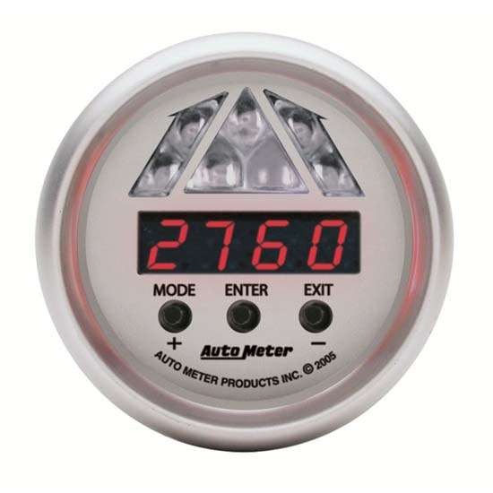 Auto Meter 4387 Ultra-Lite Pro-Shift Digital Shift-Light Gauge, Stage1