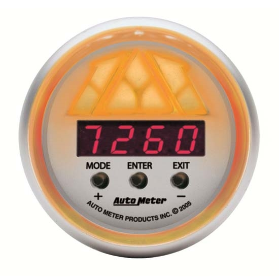 Auto Meter 4389 Ultra-Lite Pro-Shift Digital Shift-Light Gauge, Stage3