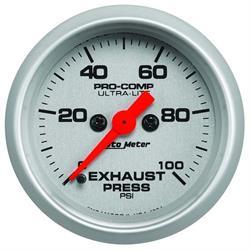 Auto Meter 4394 Ultra-Lite Digital StepperMotor Exhaust Pressure Gauge