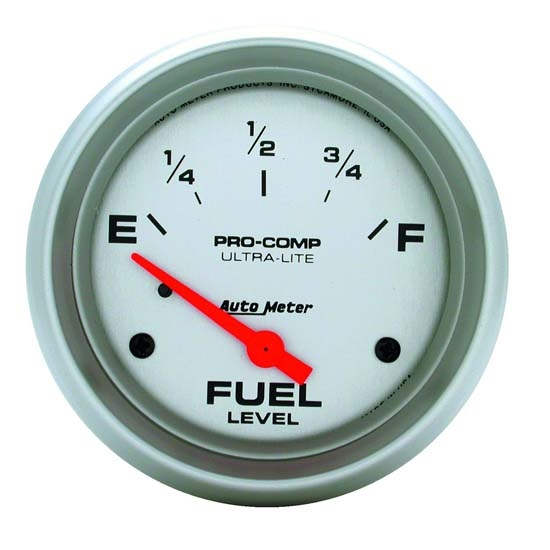 Auto Meter 4416 Ultra-Lite Air-Core Fuel Level Gauge, 2-5/8 Inch