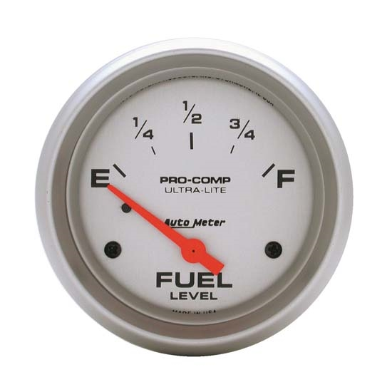 Auto Meter 4417 Ultra-Lite Air-Core Fuel Level Gauge, 2-5/8 Inch