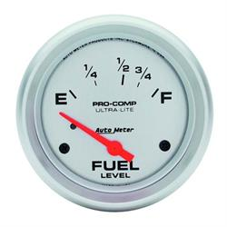 AutoMeter 4418 Ultra-Lite Air-Core Fuel Level Gauge, 2-5/8 Inch