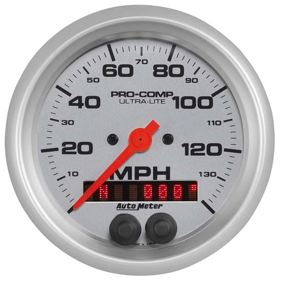 Auto Meter 4480 Ultra-Lite Air-Core GPS Speedometer, 140MPH, 3-3/8 In.