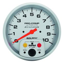 Auto Meter 4494 Ultra-Lite Air-Core In-Dash Tach, 10k RPM, 5 Inch