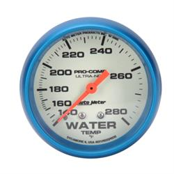 AutoMeter 4531 Ultra-Nite Mechanical Water Temperature Gauge