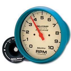 Auto Meter 4594 Ultra-Nite Air-Core In-Dash Tach, 10k RPM, 5 Inch
