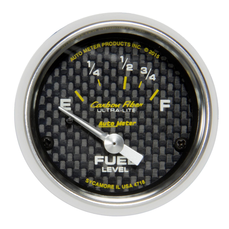 Autometer American Muscle Gauge Fuel Level 2 1//16in 16e To 158f Elec American Mu