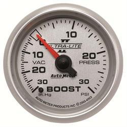 Auto Meter 4903 Ultra-Lite II Mechanical Boost/Vacuum Gauge