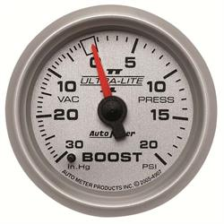 Auto Meter 4907 Ultra-Lite II Mechanical Boost/Vacuum Gauge