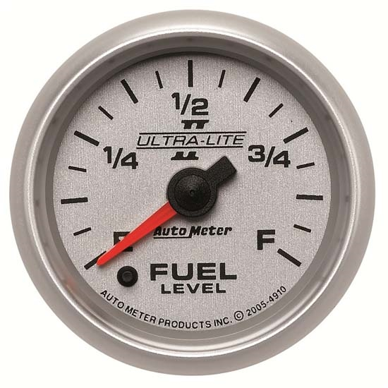 Auto Meter 4910 Ultra-Lite II Digital Stepper Motor Fuel Level Gauge