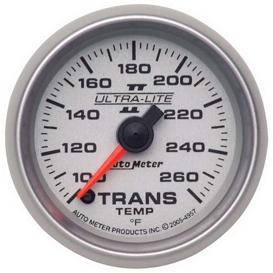 Auto Meter 4957 Ultra-Lite II Digital Stepper Motor Trans Temp Gauge