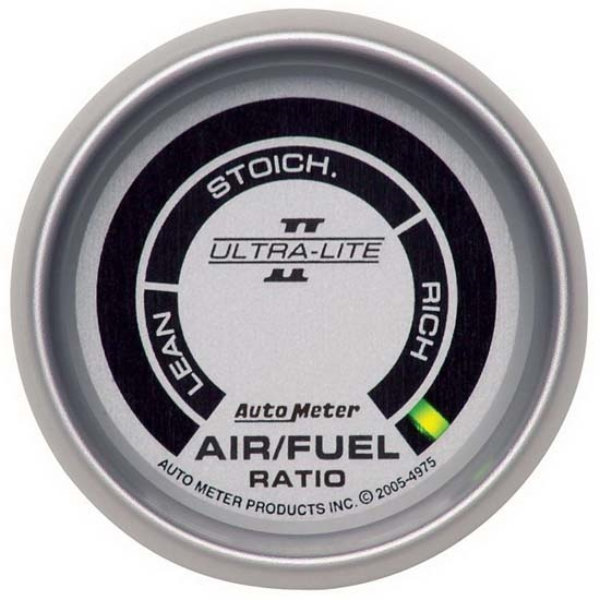 Auto Meter 4975 Ultra-Lite II Digital  Narrowband AFR Gauge, 2-1/16