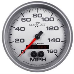 AutoMeter 4981 Ultra-Lite II Speedometer, 5 Inch
