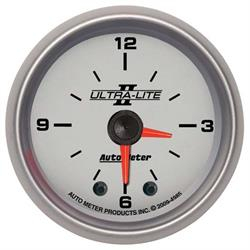 Auto Meter 4985 Ultra-Lite II Digital Stepper Motor Clock Gauge