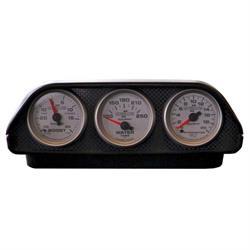 Auto Meter 5288 Universal Triple Gauge Dash Top Pod, 2-1/16 Inch