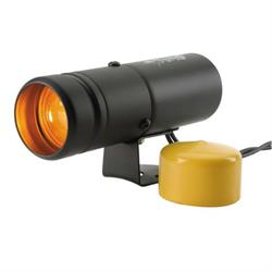 Auto Meter 5334 Shift-Lite, Pedestal, Black, Amber Bulb