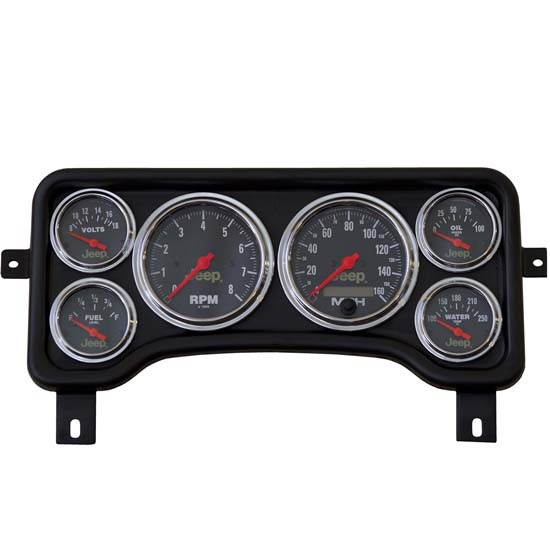 Auto Meter 5381 Jeep TJ Direct Fit Gauge Panel