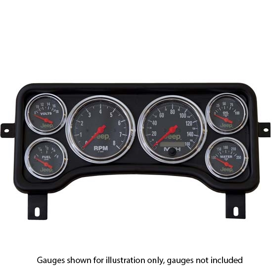 97 06 Jeep Wrangler Og Gauge Series Dash Cer Set Design
