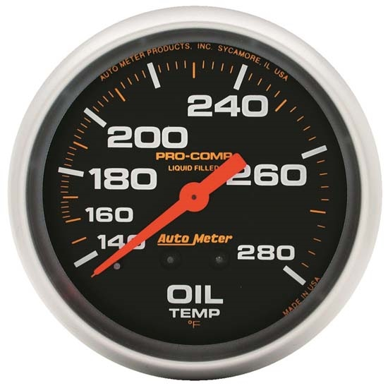 Auto Meter 5444 Pro-Comp Digital Stepper Motor Pyrometer Gauge