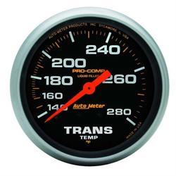 Auto Meter 5451 Pro-Comp Mechanical Transmission Temperature Gauge