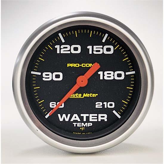 Auto Meter 5469 Pro-Comp Digital Stepper Motor Water Temperature Gauge