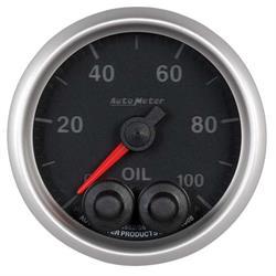 Auto Meter 5652 Elite Digital Stepper Motor Oil Pressure Gauge