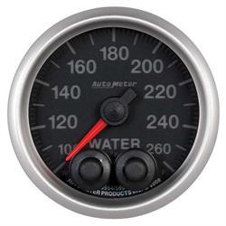Auto Meter 5654 Elite Digital Stepper Motor Water Temperature Gauge