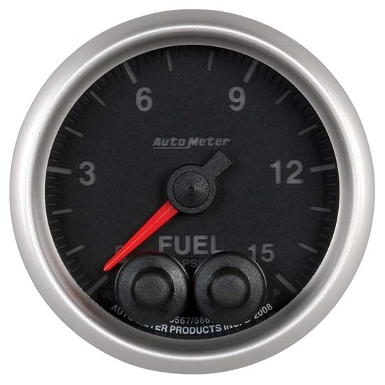 Auto Meter 5667 Elite Digital Stepper Motor Fuel Pressure Gauge