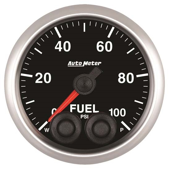 Auto Meter 5671 Elite Digital Stepper Motor Fuel Pressure Gauge