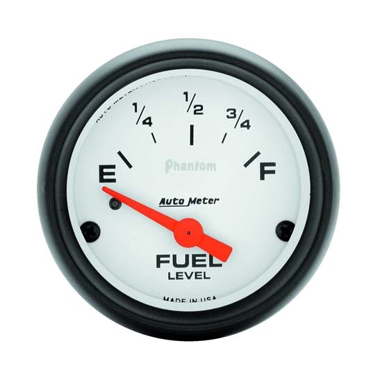 Auto Meter 5714 Phantom Air-Core Electric Fuel Level Gauge, 2-1/16 In.