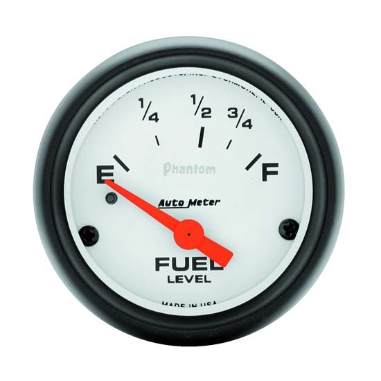 Auto Meter 5715 Phantom Air-Core Electric Fuel Level Gauge, 2-1/16 In.