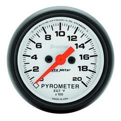 Auto Meter 5745 Phantom Digital Stepper Motor Pyrometer Gauge