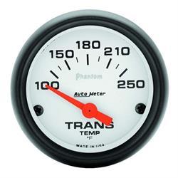 Auto Meter 5757 Phantom Air-Core Transmission Temp Gauge, 2-1/16 Inch