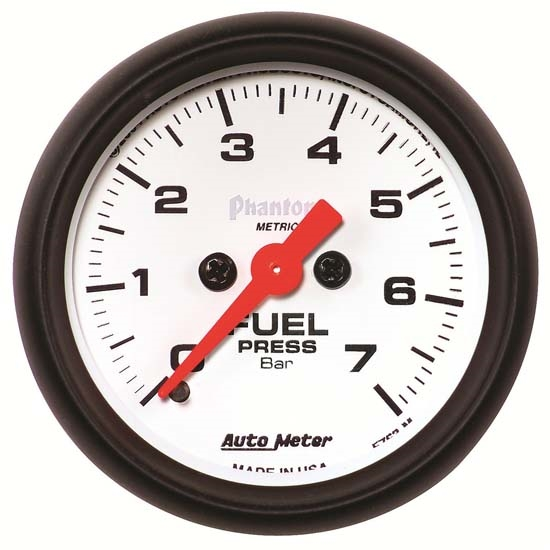 Auto Meter 5763-M Phantom Digital Stepper Motor Fuel Pressure Gauge