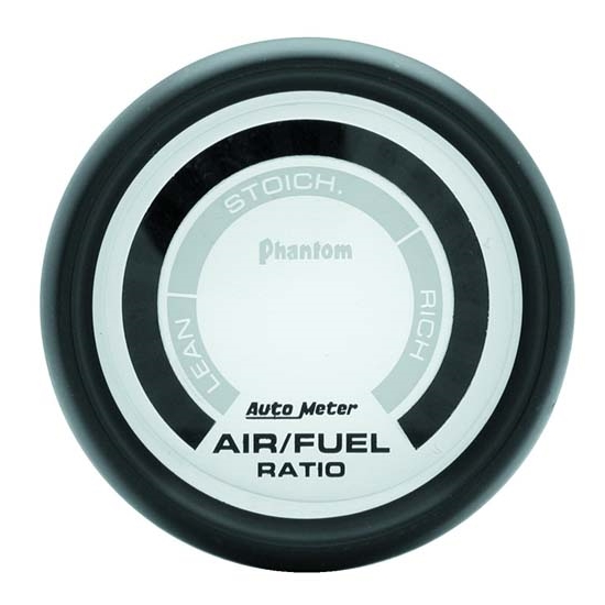 Auto Meter 5775 Phantom Digital  Narrowband Air/Fuel Ratio Gauge