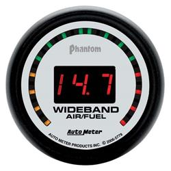 Auto Meter 5779 Phantom Digital Wideband Air/Fuel Ratio (AFR) Gauge