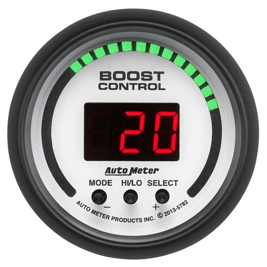 Auto Meter 5782 Phantom Digital Boost Controller Gauge, 2-1/16 Inch